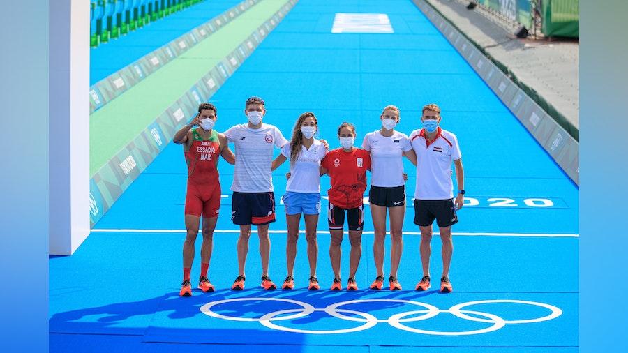 The ASICS World Triathlon Team touches down in Tokyo