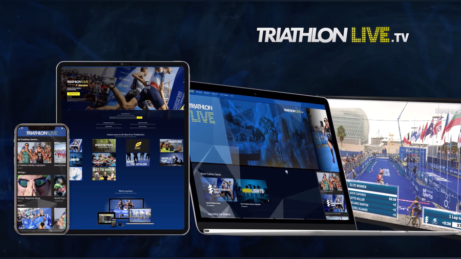 ITU Launches All-New TriathlonLive Streaming Platform Ahead Of WTS Season