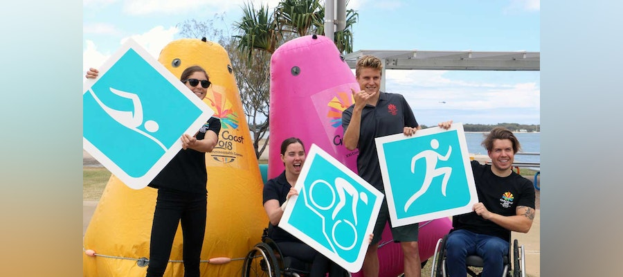 Paratriathlon ready to make its debut at the Commonwealth Games