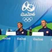 Rio Olympics: USA Men chat with media