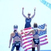 USA dominates women's Paratriathlon
