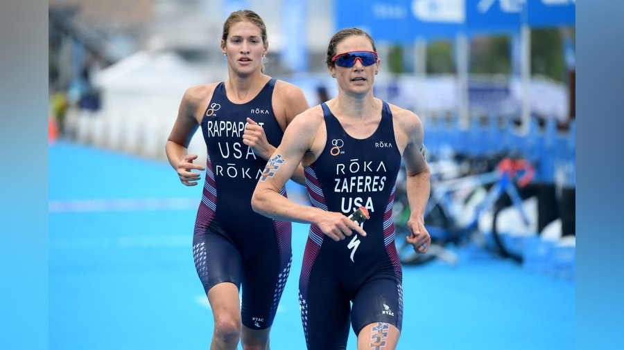 Zaferes, Rappaport, Knibb eye USA's second Olympic Triathlon gold