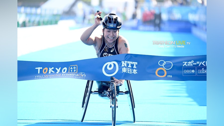 Paratriathlon World Cup takes over day 3 of Tokyo Test Event
