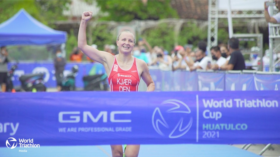 Denmark's Pedersen earns first World Triathlon Cup gold in Huatulco