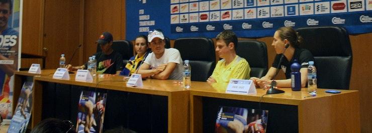 World Triathlon Madrid Athlete Press Conference