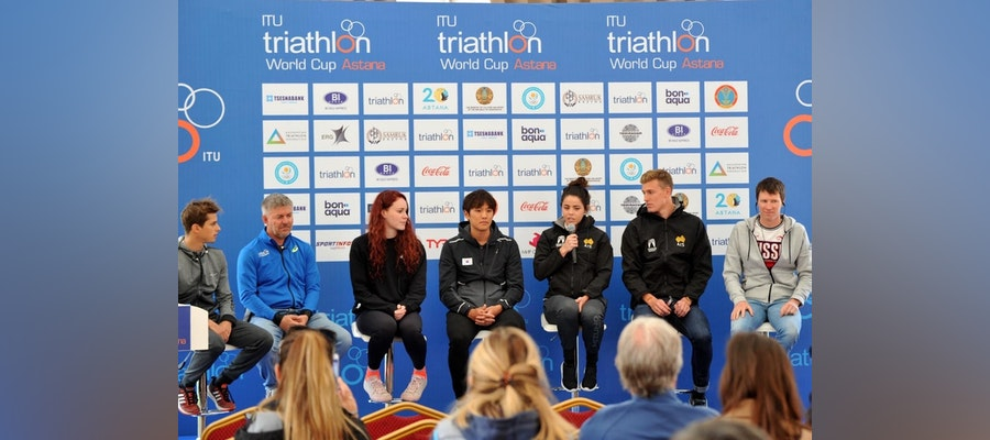Athletes chatter ahead of Astana World Cup