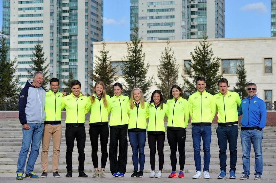 ASICS World Triathlon Team debuts at Astana World Cup