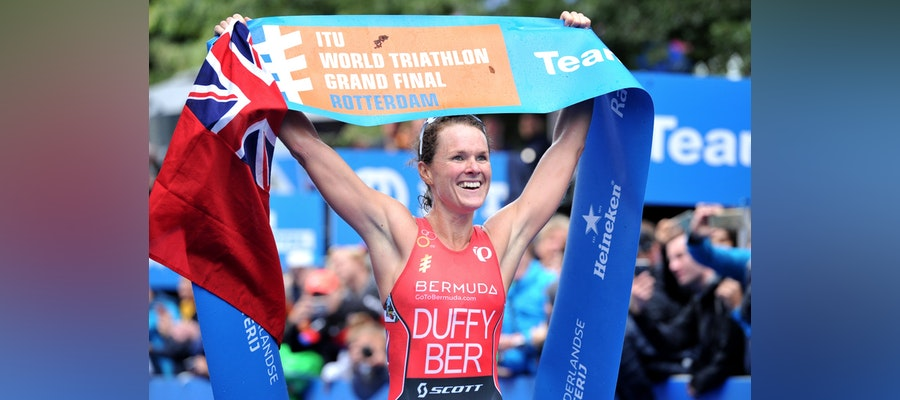 Victory in Rotterdam secures Flora Duffy's two-time world championship crown