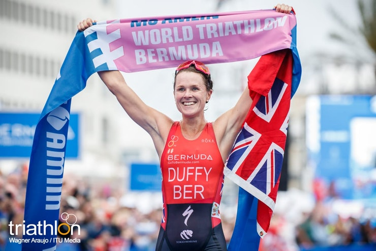 Flora Duffy is hometown hero with WTS Bermuda win