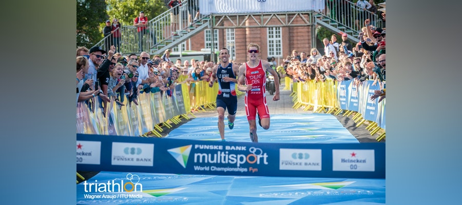Schilling, Illes, earn World titles in the opening event of the 2018 Multisport World Championships