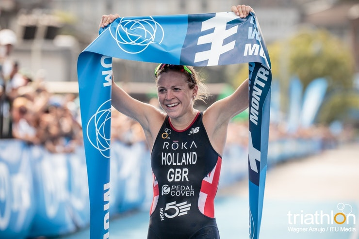 Brit Vicky Holland collects third WTS gold of season with Montreal win