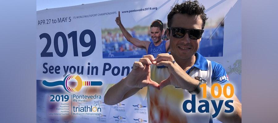 Only 100 days to go to Pontevedra 2019!