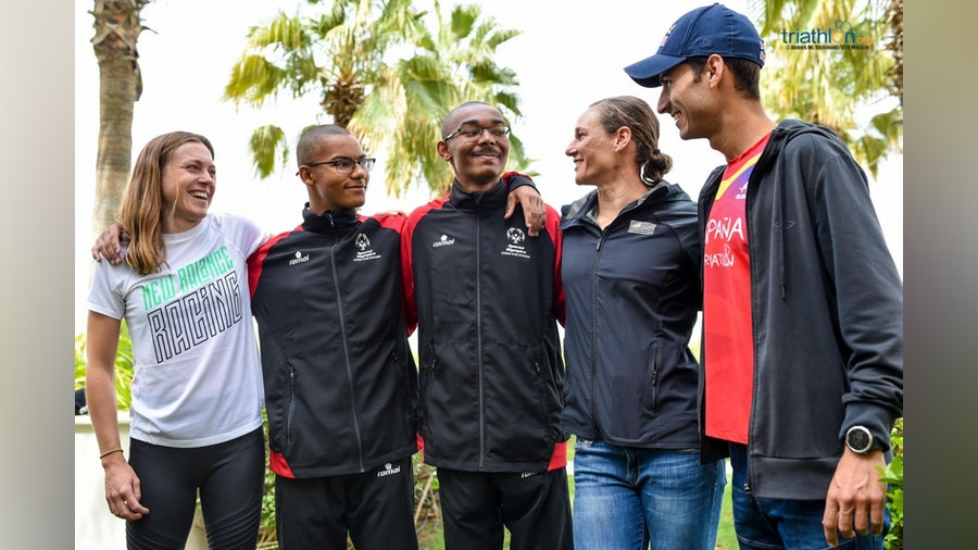 Athletes chatter ahead of the WTS season's kick off in Abu Dhabi