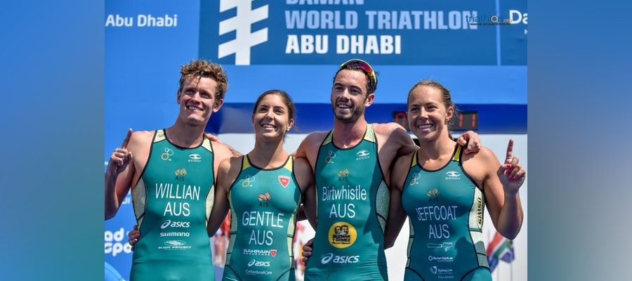 Birtwhistle brings home first Mixed Relay World Series gold of 2019 for Aussies in Abu Dhabi