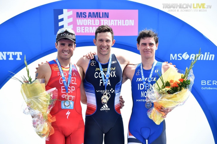 Surprise win for Dorian Coninx and Javier Gomez returns to WTS podium in Bermuda