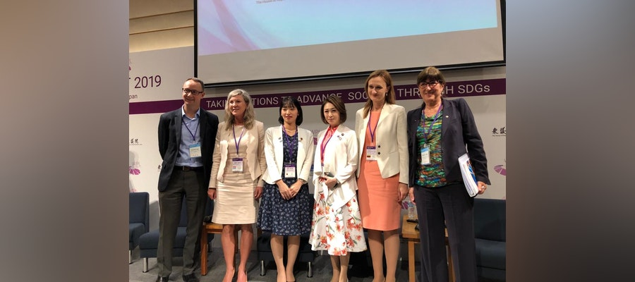 ITU President represents the IOC at the Women Political Leaders Summit in Tokyo