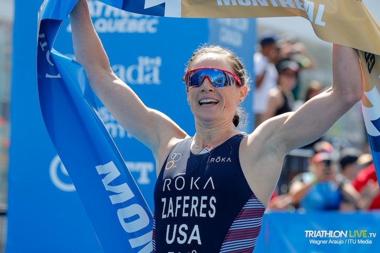 Katie Zaferes commands in WTS  Montreal