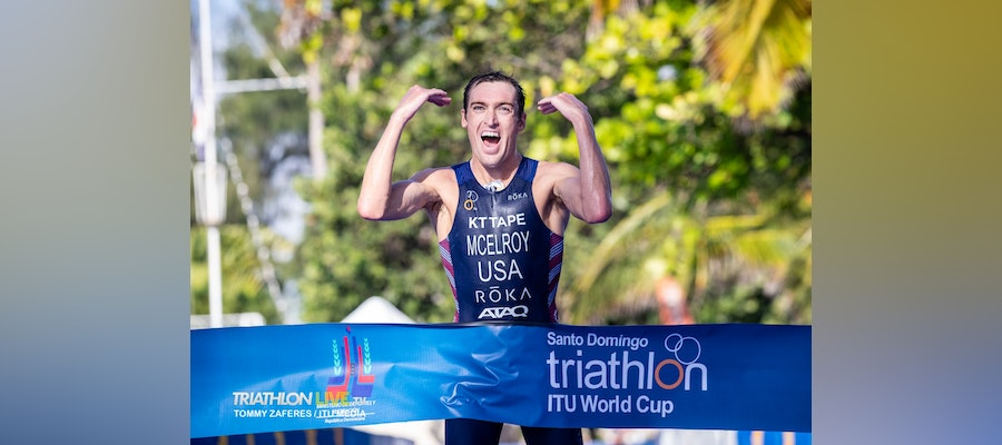 McElroy leads a podium sweep for USA in Santo Domingo