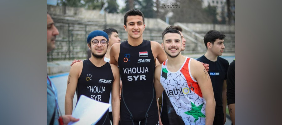 Triathlon family united by remarkable Aleppo Aquathlon
