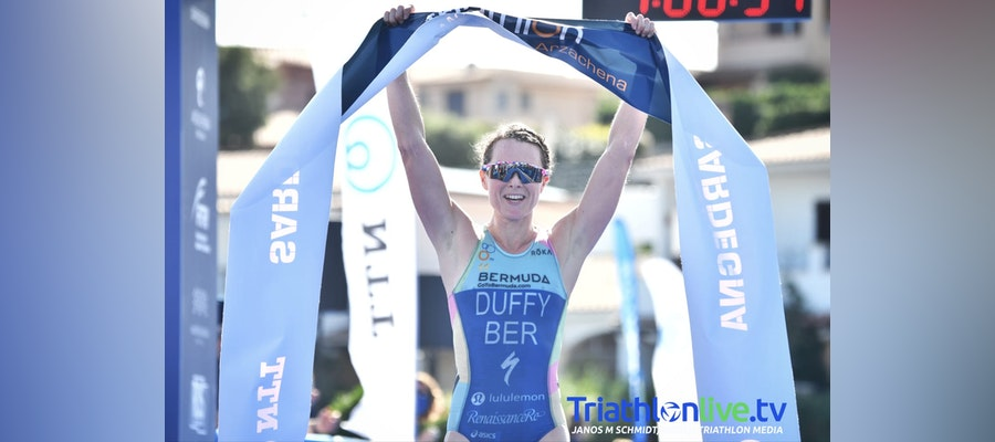 Flora Duffy dazzles in Arzachena World Cup