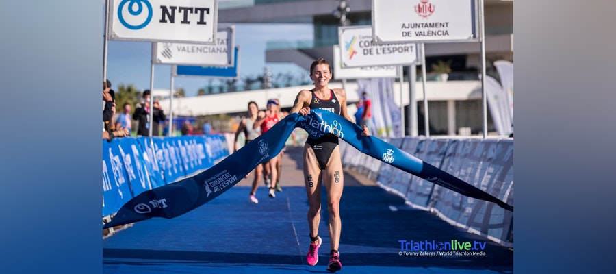 First World Cup win for Beth Potter in Valencia