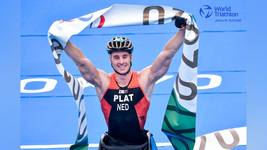Unstoppable Jetze Plat claims his second Para triathlon gold in Tokyo