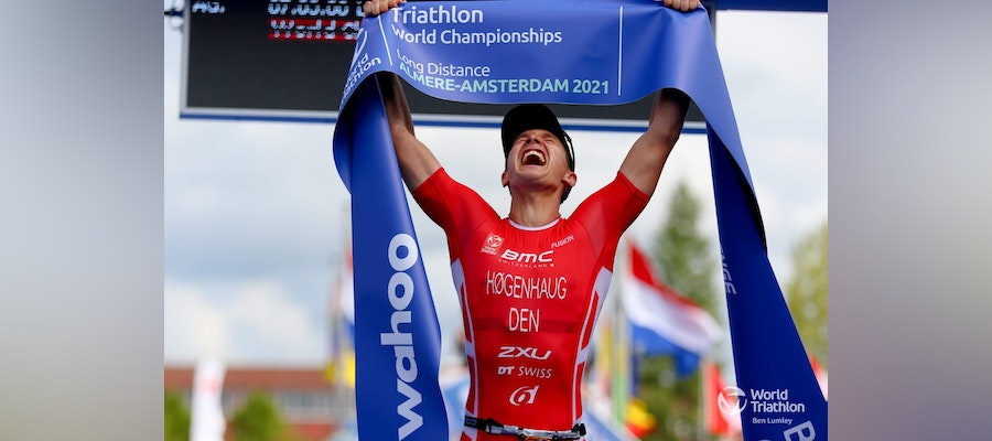 Denmark's Kristian Hogenhaug claims the Long Distance world title in Almere
