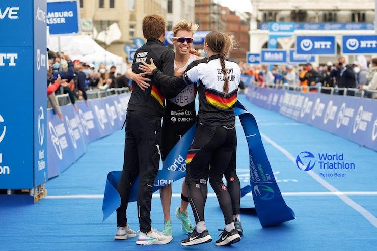 El Equipo Alemania gana los Relevos Mixtos en Hamburgo