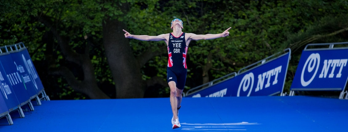Alex Yee shows Olympic credentials with golden WTCS Leeds display
