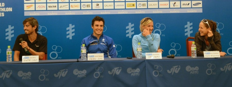 2012 Yokohama Pre-race Press Conference Highlights
