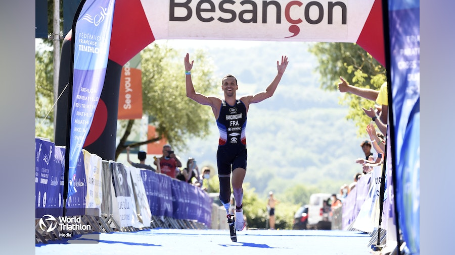 French Para triathletes continue shining in Besancon