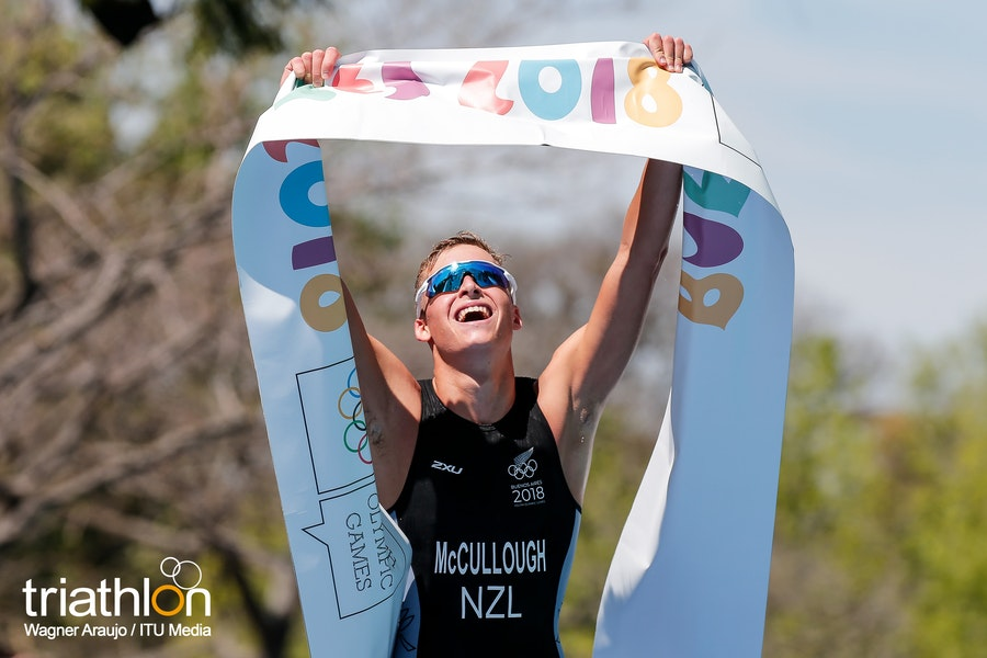 Young Kiwi McCullough claims gold at the Buenos Aires Youth Olympics