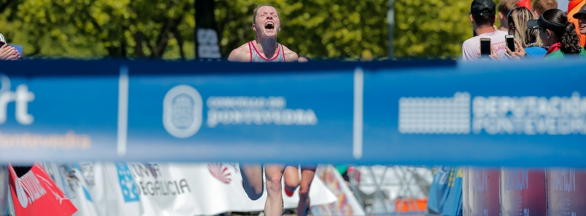 Victory for Rostislav Pevtsov and Alicja Ulatowska at the Aquathlon World Championships