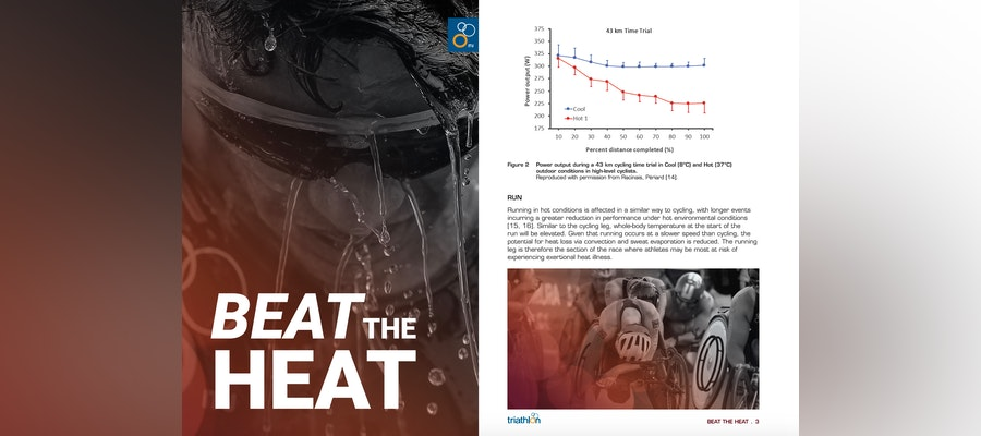 ITU presents 'Beat the Heat', a comprehensive guide for racing under extreme hot conditions