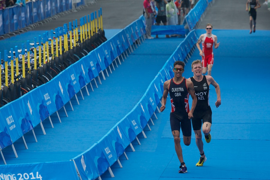 Young triathletes prepare to try and reach 2018 Youth Olympic Games in Argentina