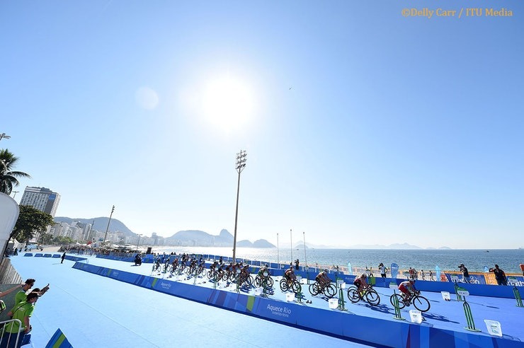 Rio 2016 Olympic Games: Swim, Bike Run - Women's Race
