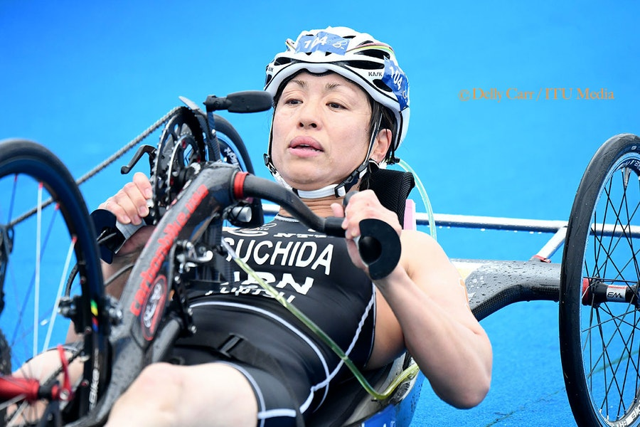 Yokohama marks the debut of the World Paratriathlon Series in 2018