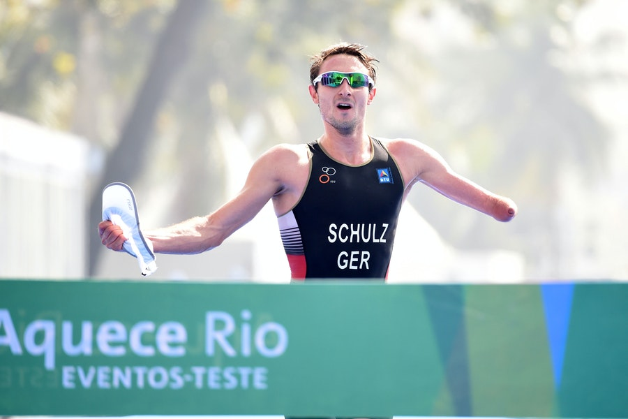 Martin Schulz to go all-out attack in Besancon Paratriathlon World Cup