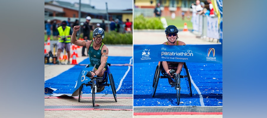 Aussie paratriathletes shine in Devonport PWC