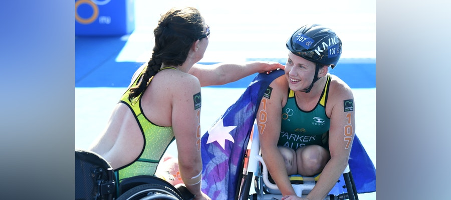 Paralympic Champions head to Devonport for the start of the Paratriathlon season