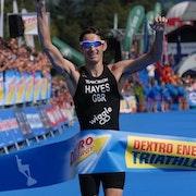Hayes Scores Breakaway Win in Kitzbühel