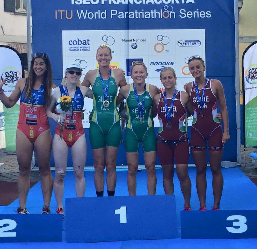 European champions triumph at Iseo Paratriathlon World Cup