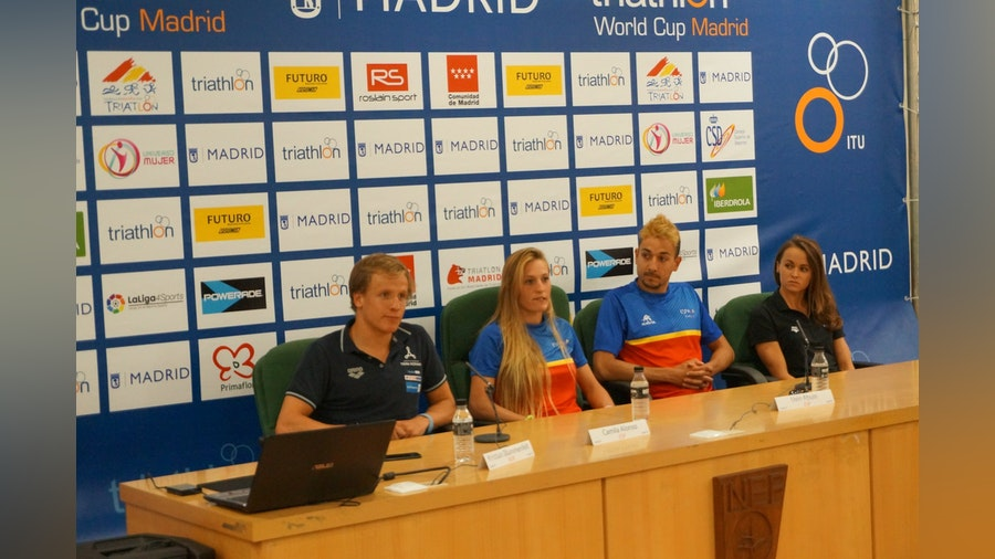 Athletes chatter ahead of Madrid World Cup