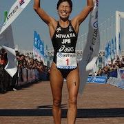 Niwata and Hirano Win Tokyo Asian Cup Triathlon