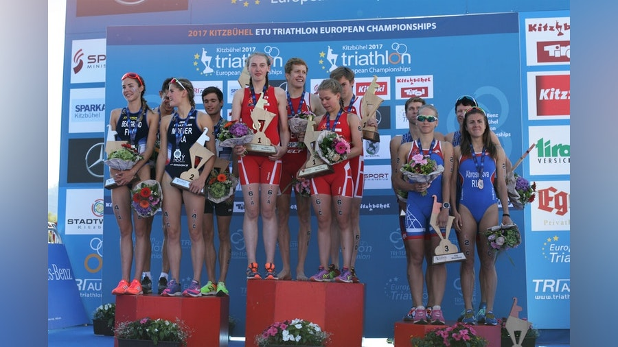 France in hunt for mixed relay gold in the European Championships