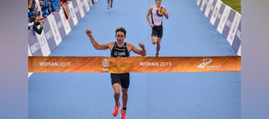 Pierre Le Corre and Jolanda Annen claim titles at the World Military Games